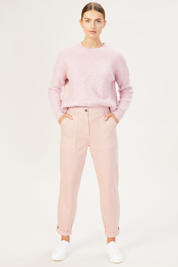 UTILITY CARGO PANT  DUSTY PINK  hi-res