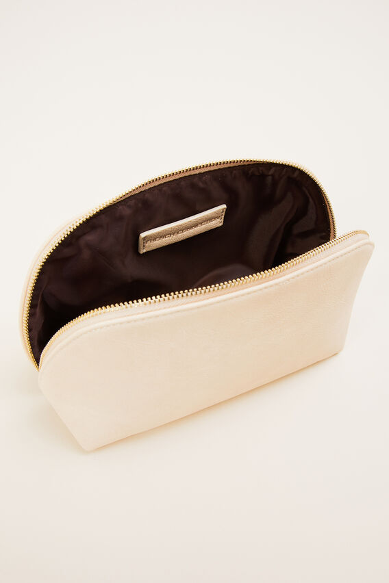 COSMETIC BAG  ECRU  hi-res