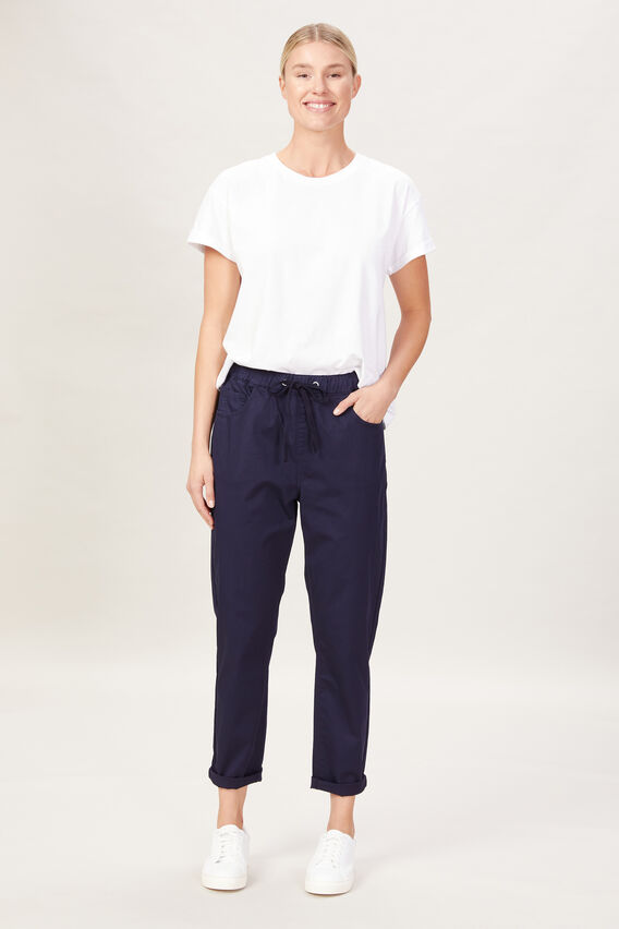 LIGHTWEIGHT CASUAL PANT  FRENCH NAVY  hi-res