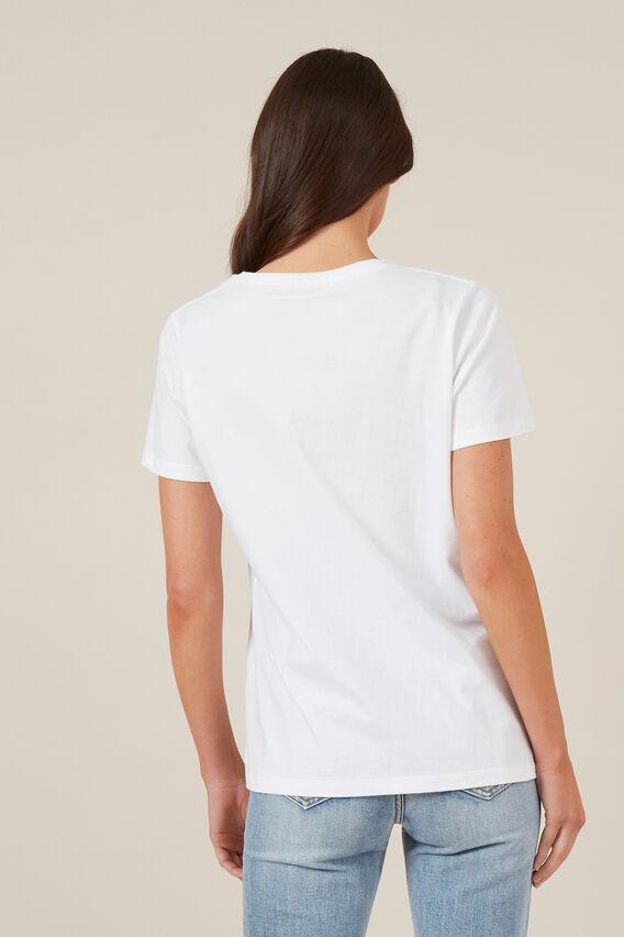 CLASSIC CREW NECK TEE  WHITE  hi-res