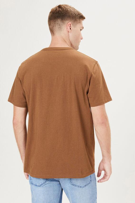 HEAVYWEIGHT T-SHIRT  DARK CAMEL  hi-res