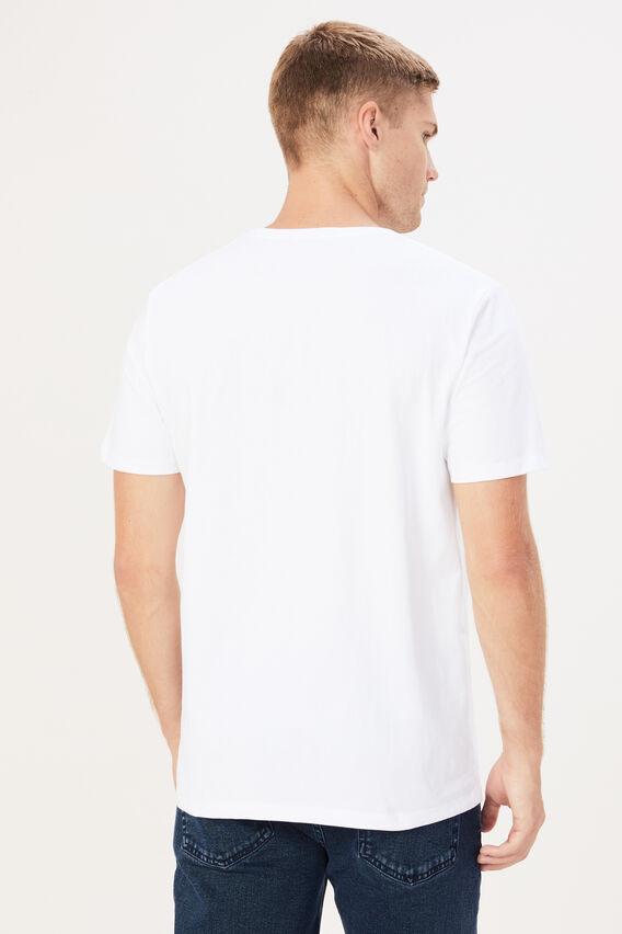 GRADIENT T-SHIRT  WHITE  hi-res