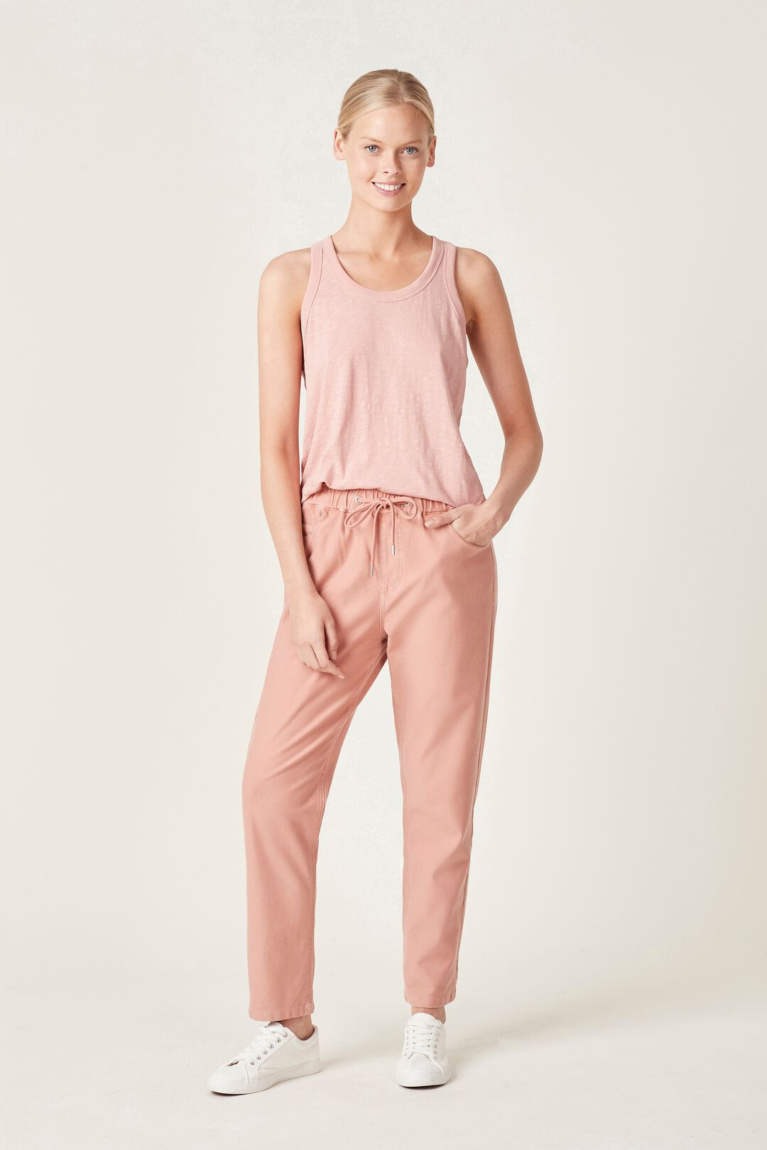 CASUAL PANT  DUSTY PINK  hi-res