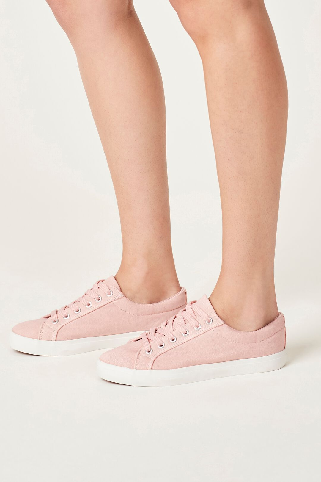 CANVAS SNEAKER  DUSTY PINK  hi-res