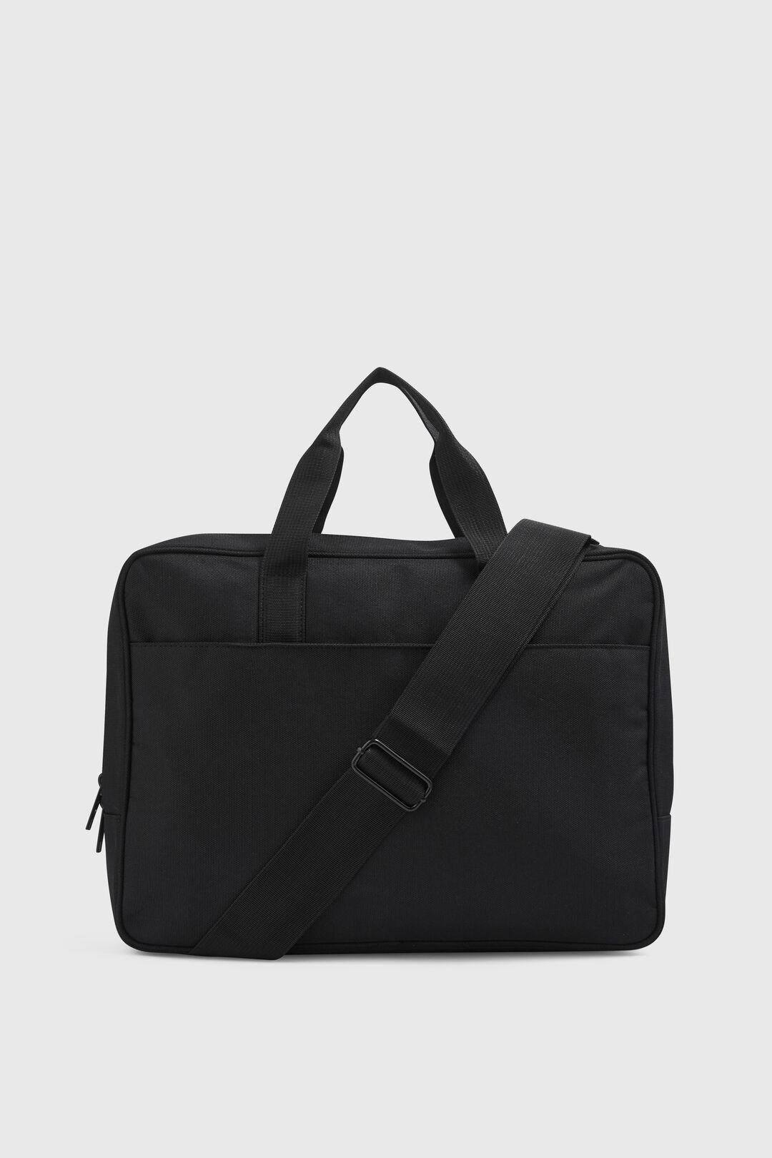 NYLON LAPTOP BAG  BLACK  hi-res