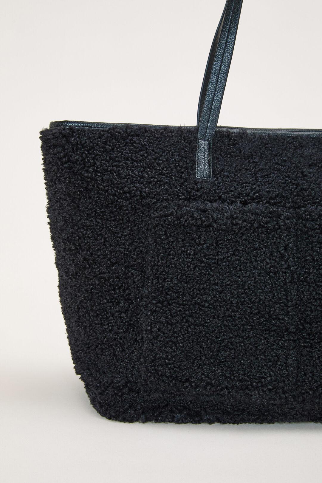 TEDDY TOTE BAG  BLACK  hi-res