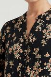 TIERED V-NECK DRESS  VINTAGE FLORAL  hi-res