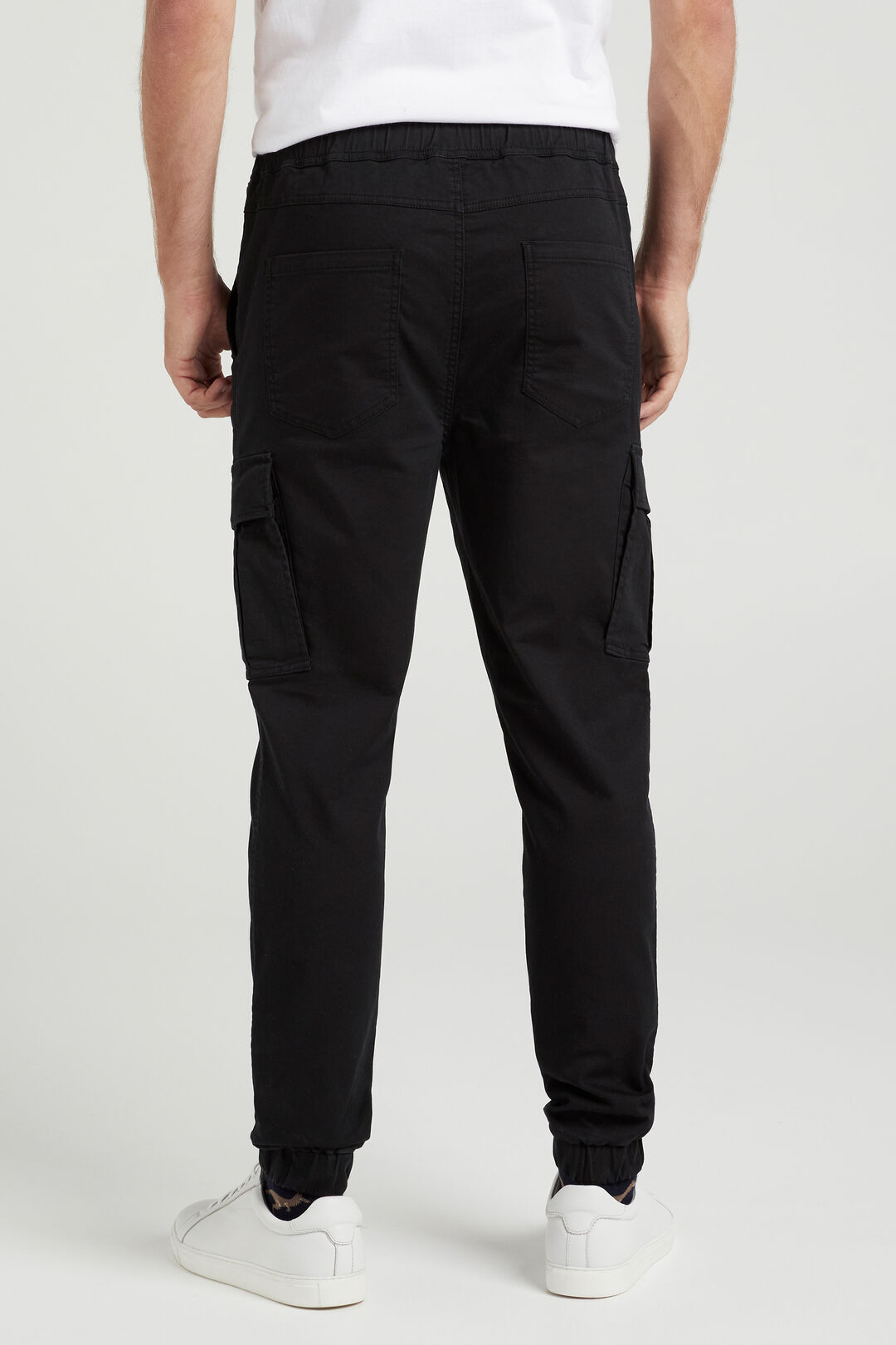CARGO CASUAL PANT  BLACK  hi-res
