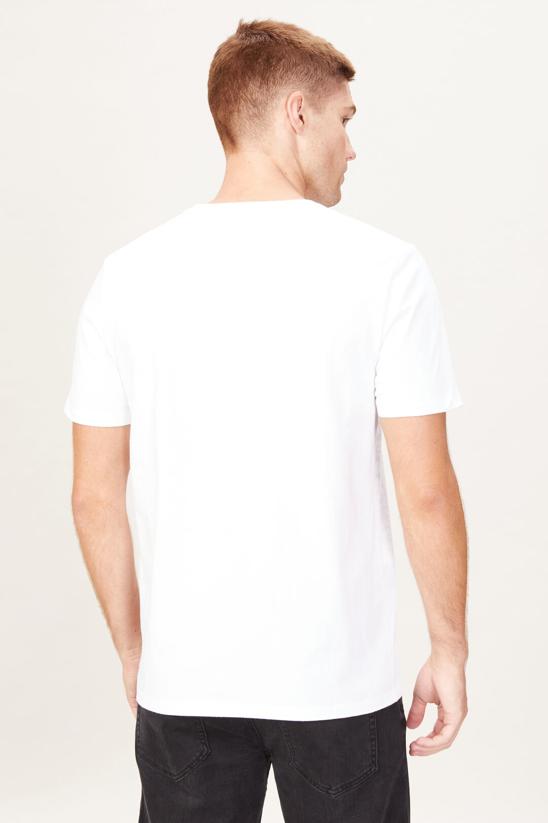VINTAGE PRINT T-SHIRT  WHITE  hi-res