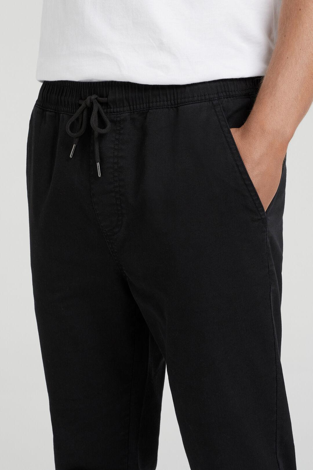 CASUAL PANT  BLACK  hi-res