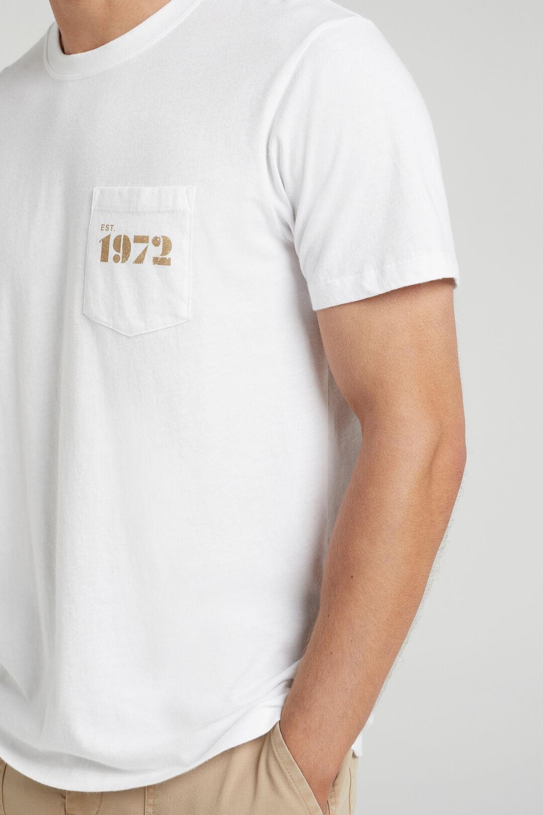 VINTAGE 1972 T-SHIRT  WHITE  hi-res
