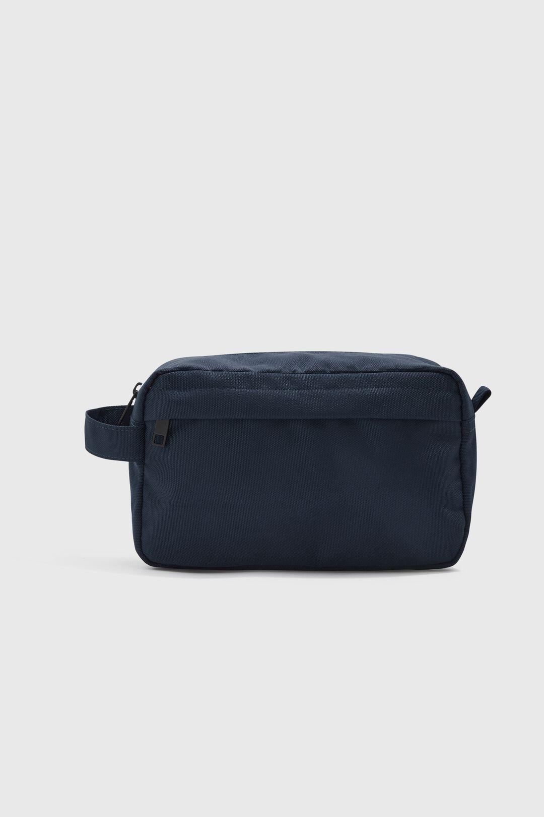 NYLON CANVAS WASH BAG  MARINE BLUE  hi-res