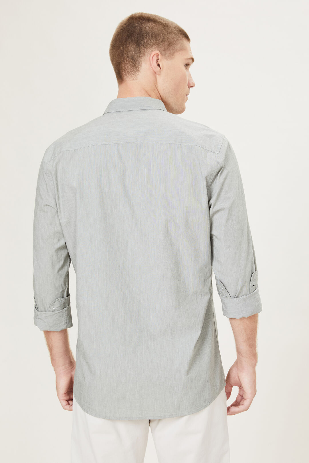 END ON END CLASSIC FIT SHIRT  MOSS  hi-res