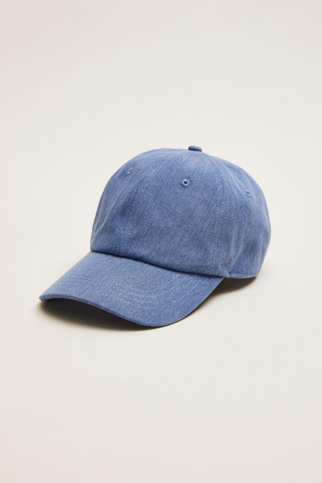 VINTAGE WASH CAP  BLUE  hi-res